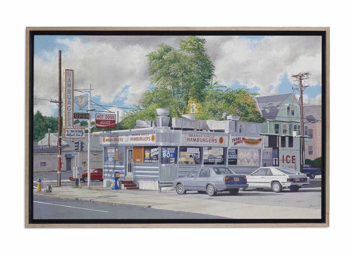John Baeder-Orange Circle Diner-2004