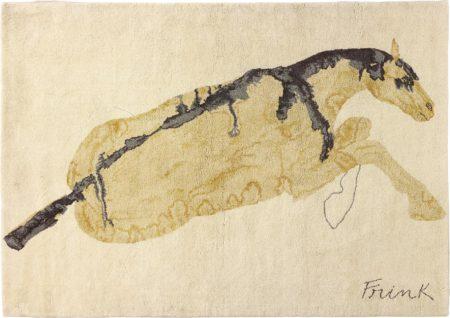 Elisabeth Frink-Reclining Horse-1975
