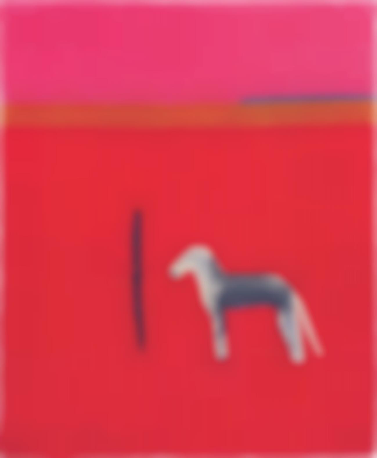 Craigie Aitchison-Bedlington In Red-2012