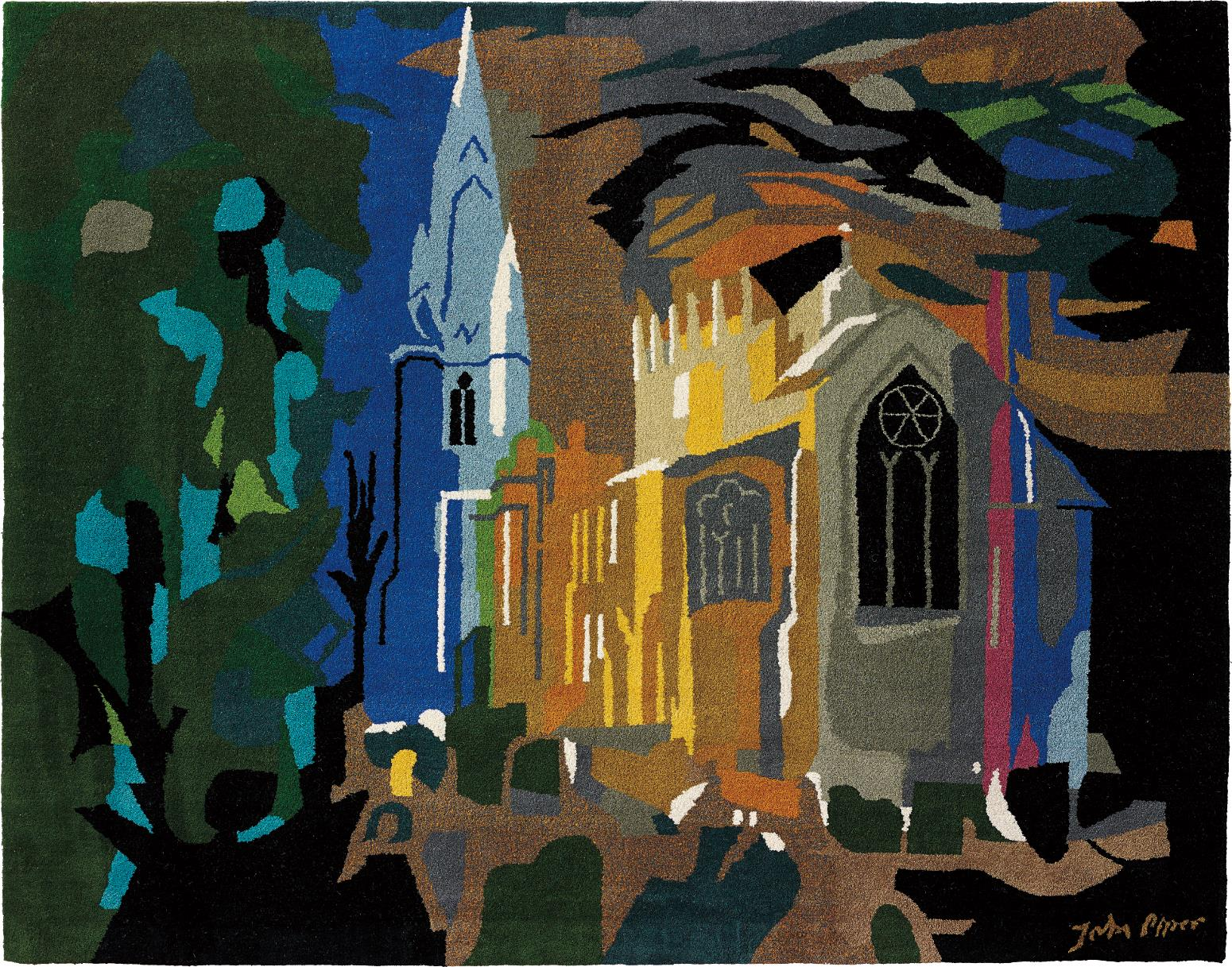 John Piper-Long Sutton, Lincolnshire-1984