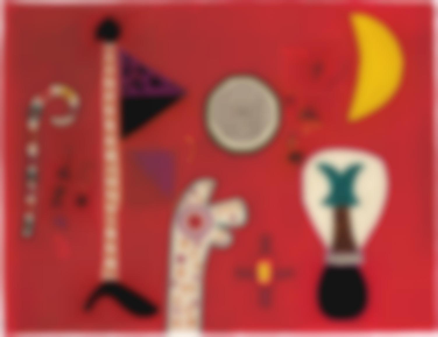 Alan Davie-Flag Walk-1972
