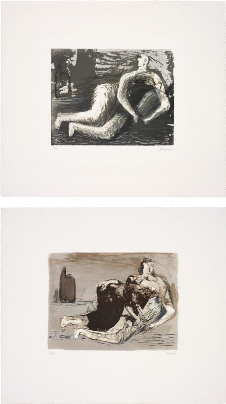 Henry Moore-Adam; and Eve-1980