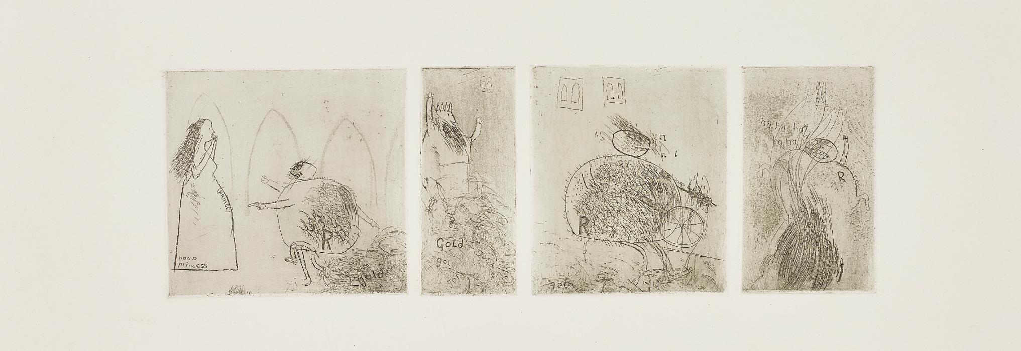 David Hockney-Study for Rumplestiltskin-1961