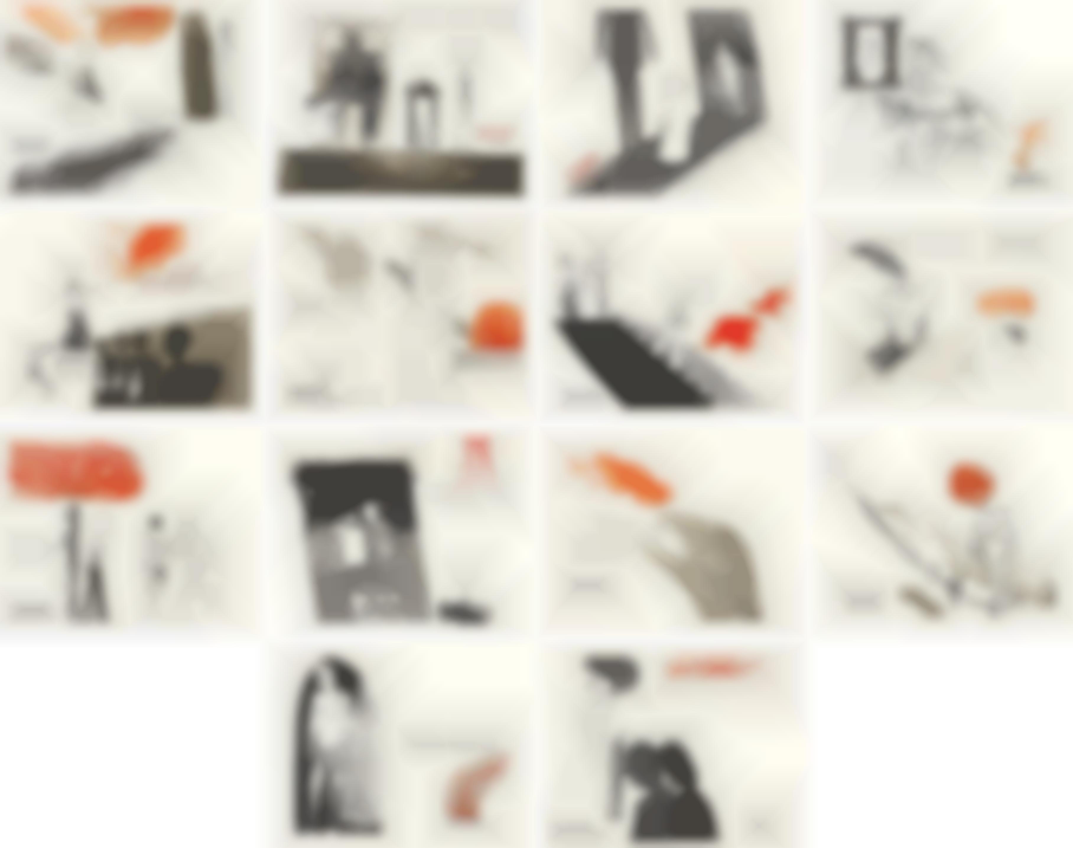 David Hockney-A Rake's Progress: 14 plates-1963
