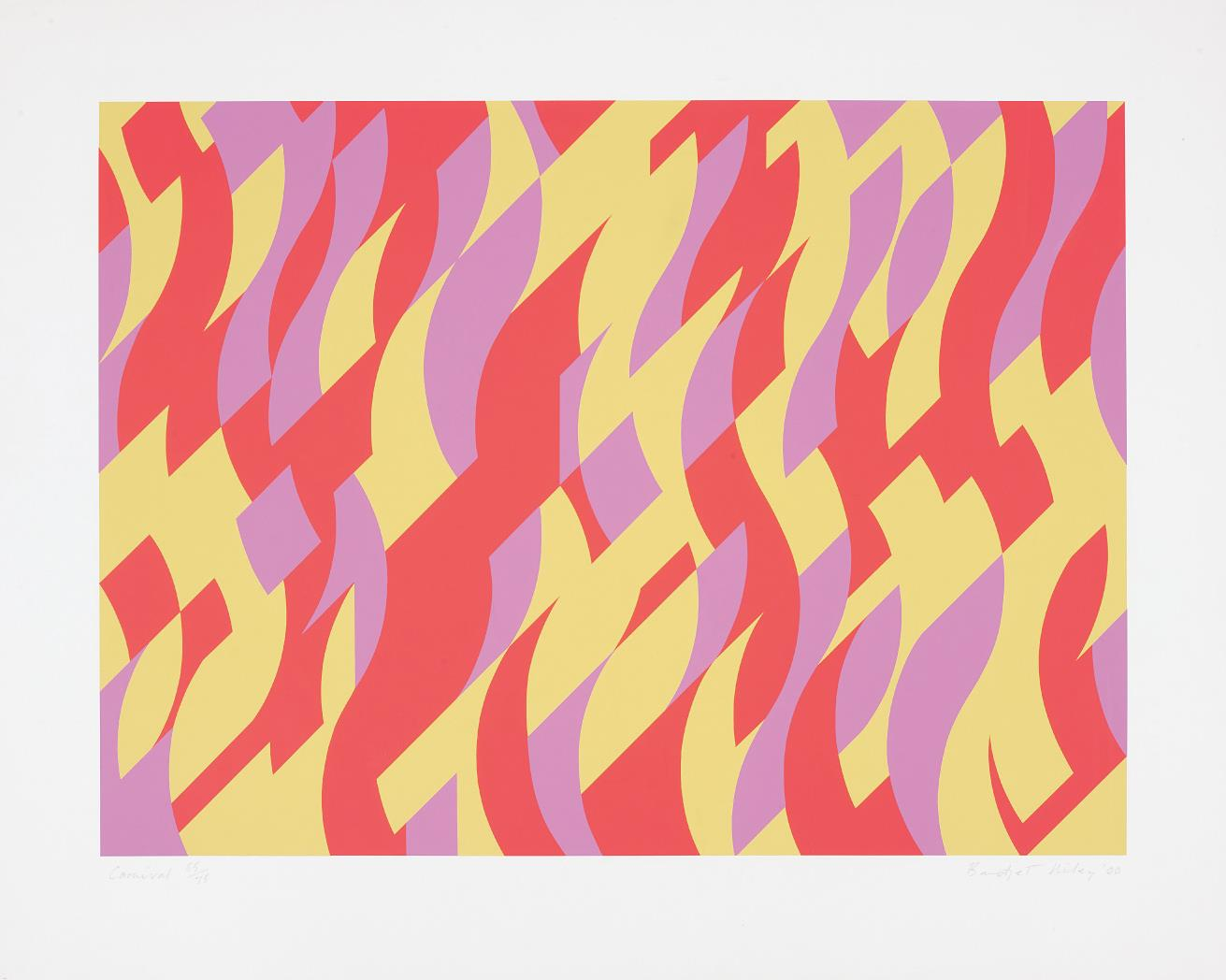 Bridget Riley-Carnival-2000