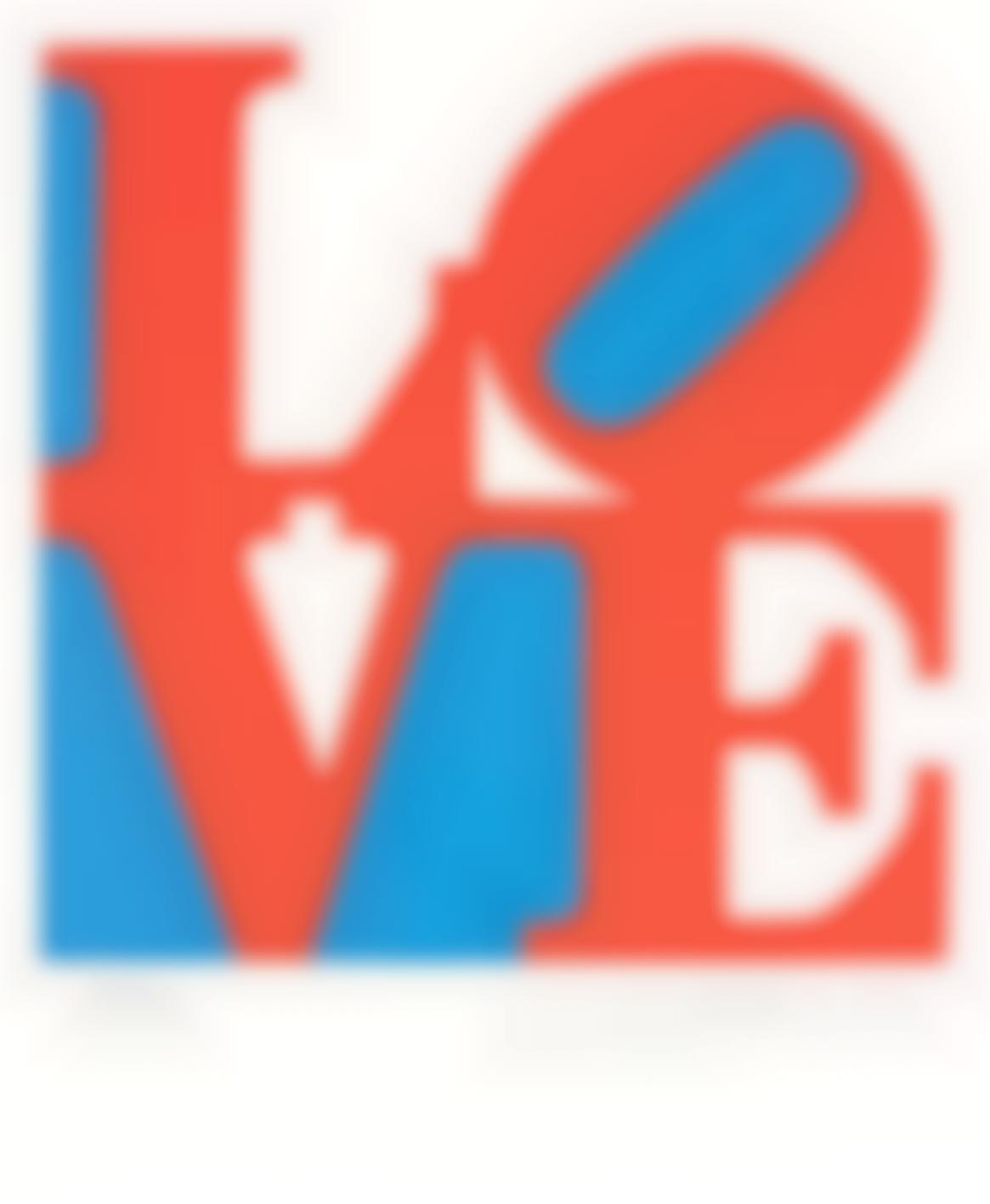 Robert Indiana-Love, from Book of Love-1996
