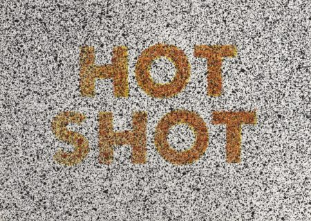 Ed Ruscha-Hot Shot, from 18 Small Prints-1973