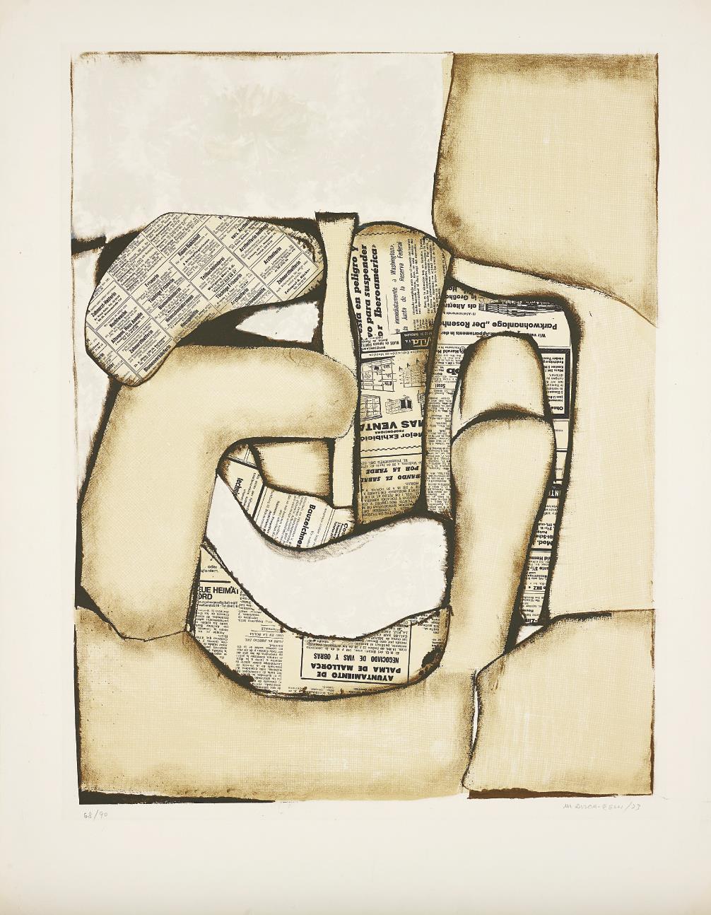 Conrad Marca-Relli-Composition-1973