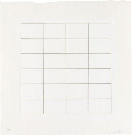 Agnes Martin-Untitled-1973