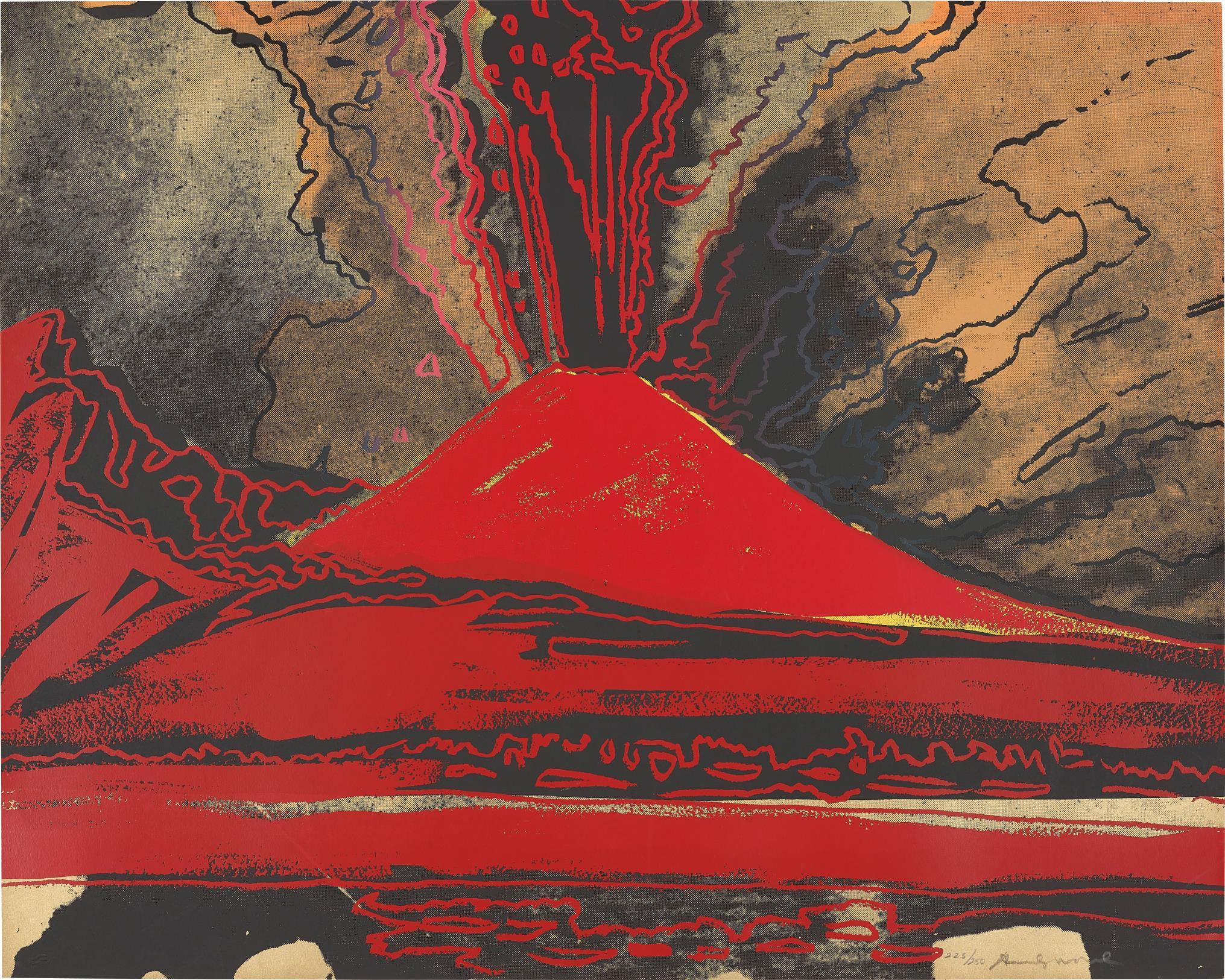 Andy Warhol-Vesuvius-1985