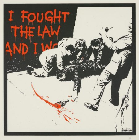 Banksy-I Fought the Law-2005