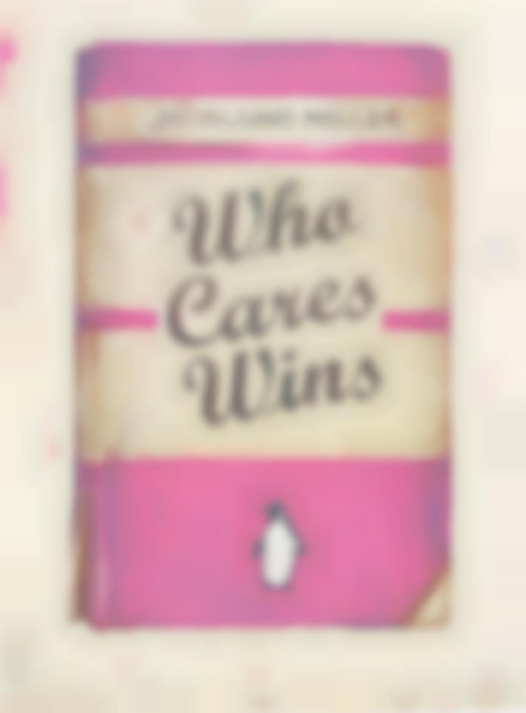 Harland Miller-Who Cares Wins, from Artists with Liberty: Save Our Human Rights Act-2016