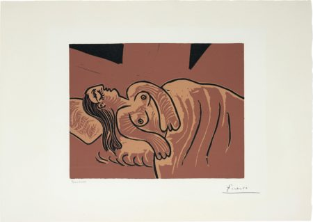Pablo Picasso-Femme Endormie (Sleeping Woman)-1962