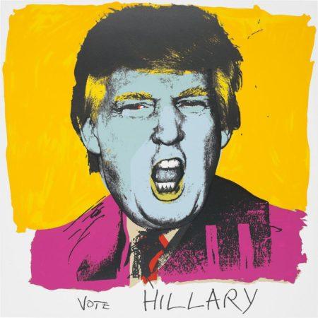 Deborah Kass-Vote Hillary-2016