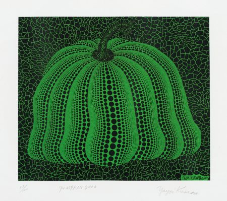 Yayoi Kusama-Pumpkin 2000 (Green)-2000