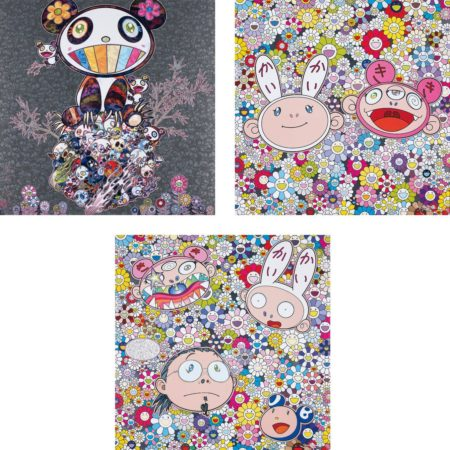 Takashi Murakami-Panda & Panda Cubs; Kaikai & Kiki: Dreaming of Shangri-la; and The Creative Mind-2015