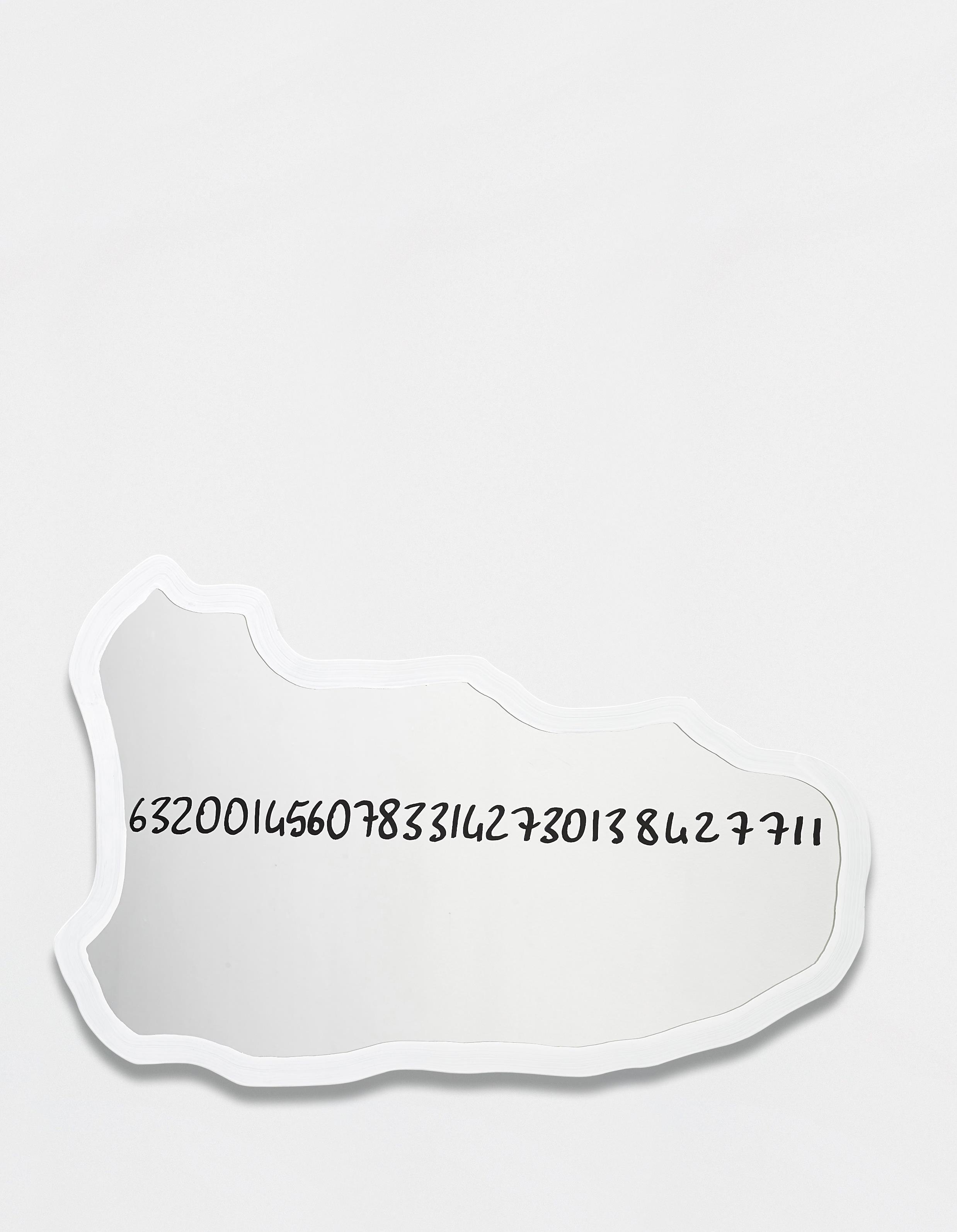 Michelangelo Pistoletto-Frattali (White)-2000