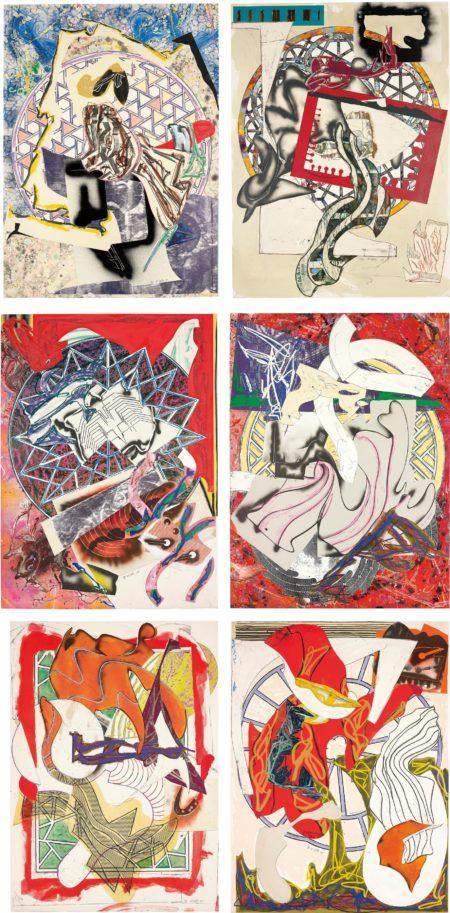 Frank Stella-Waves I and II: Six Works-1989