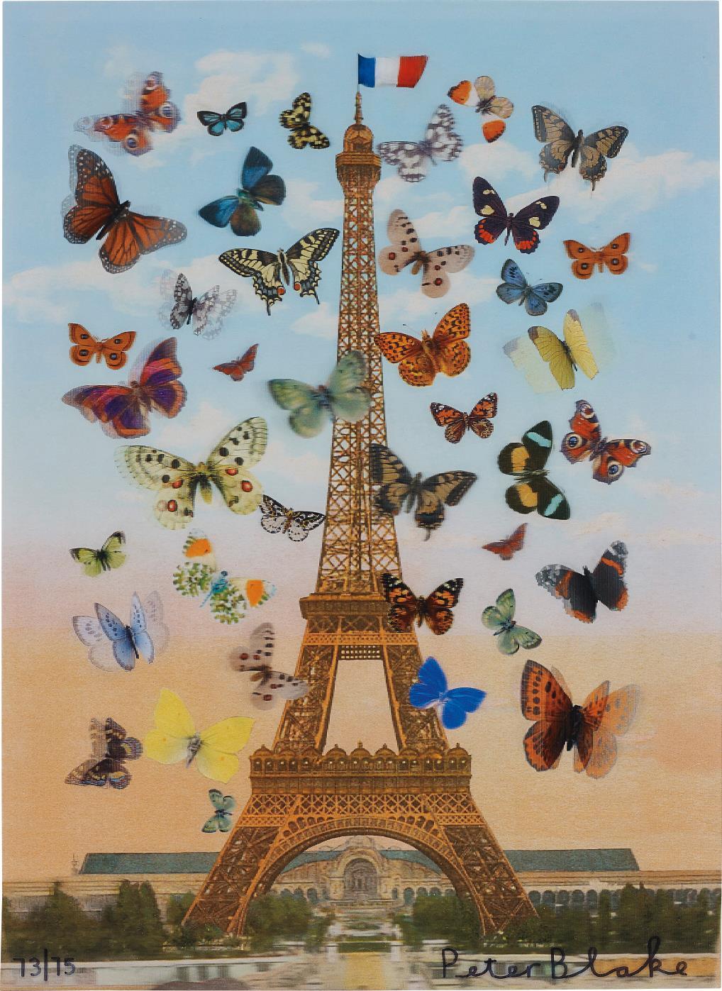 Peter Blake-Eiffel Tower-2013