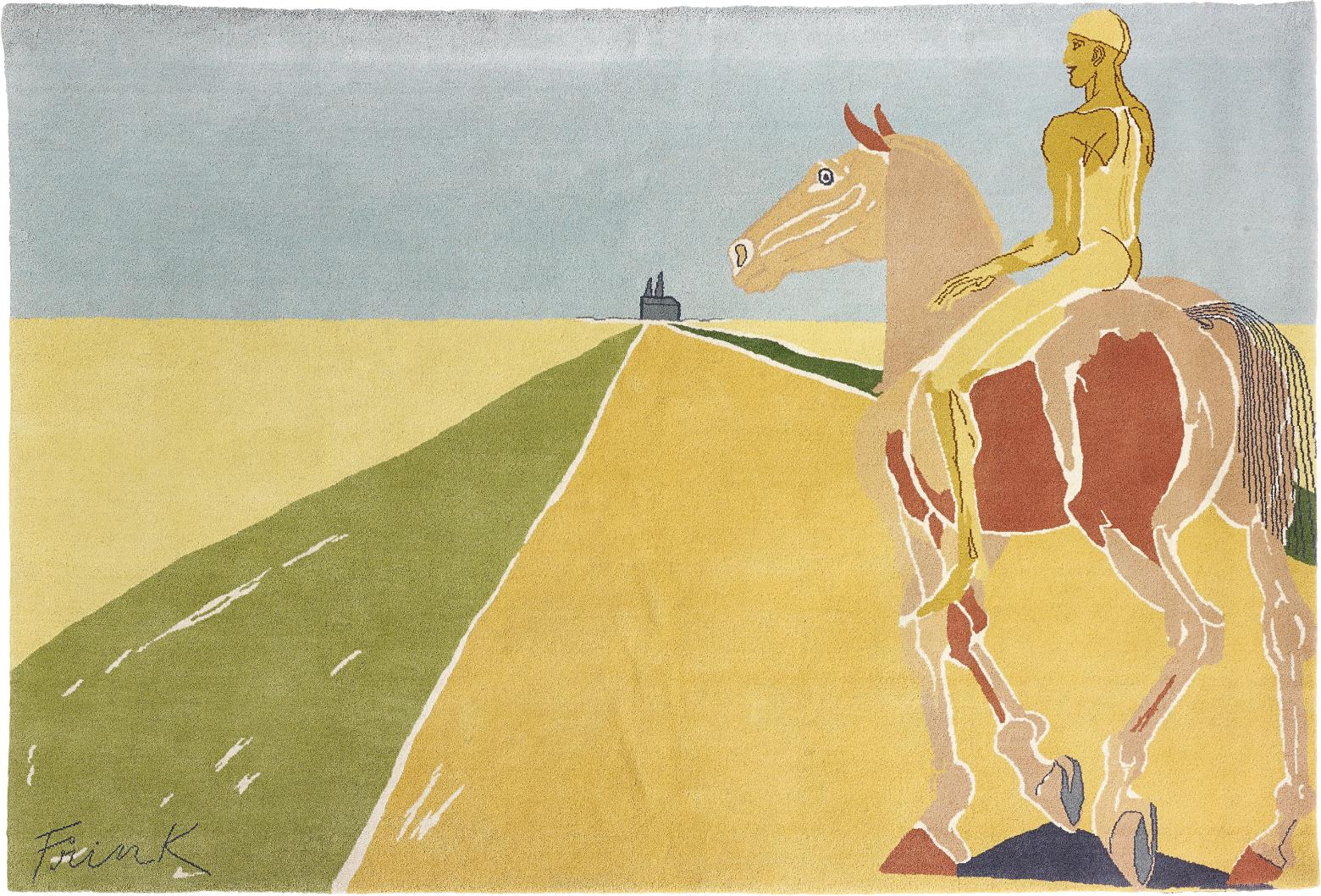 Elisabeth Frink-Road to Chartres-1983