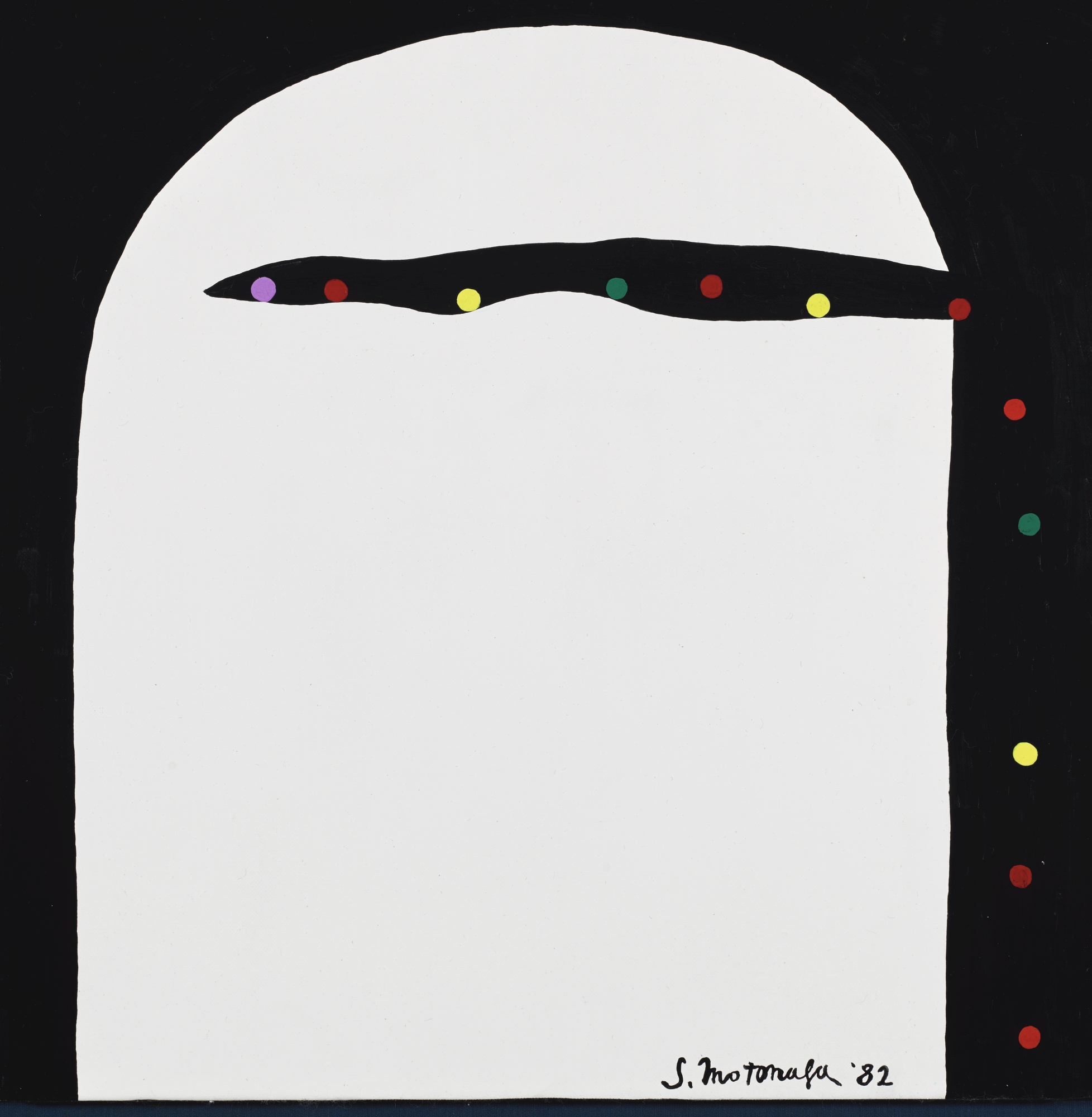 Sadamasa Motonaga-Twelve Coloured Balls-1982