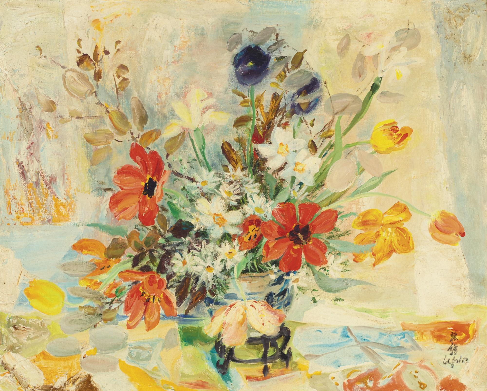 Le Pho-Les Tulipes Et Les Renoncules-