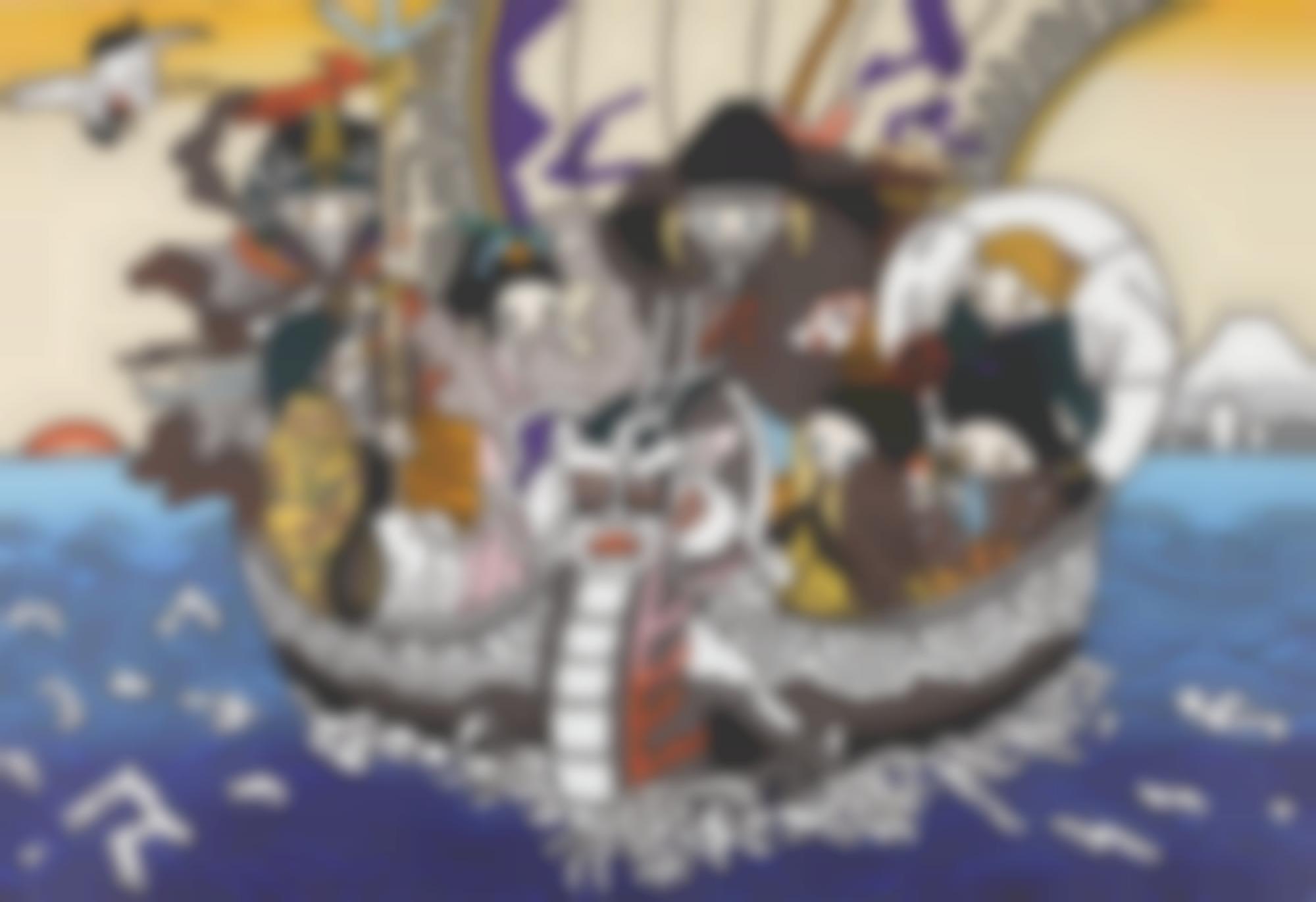 Maki Hosokawa-Seven Lucky Gods On Dragon Boat-2012