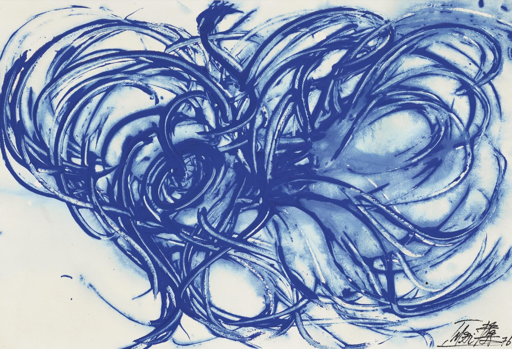Toshimitsu Imai-Untitled (Blue)-1976