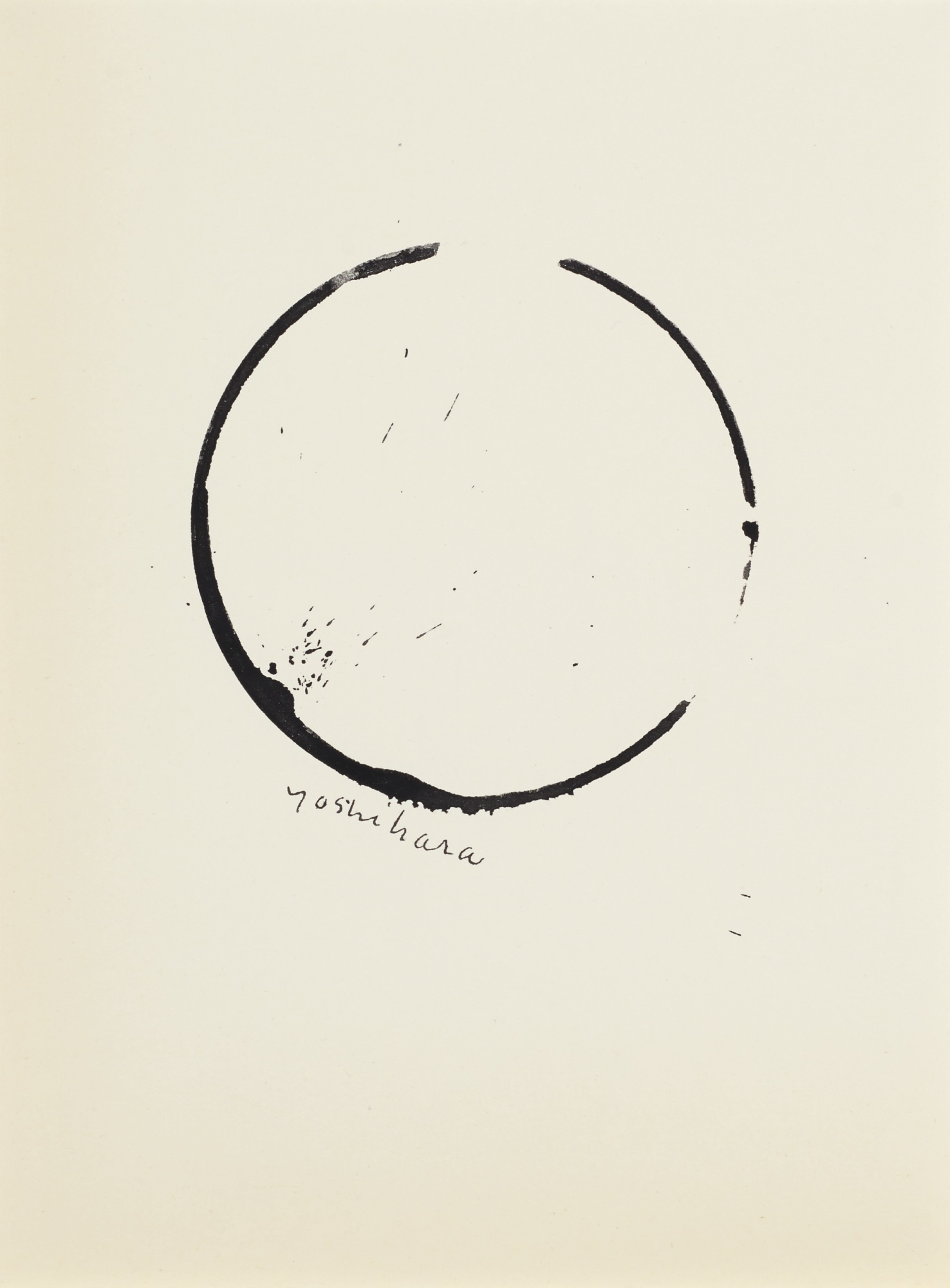 Jiro Yoshihara-Untitled (Circle)-