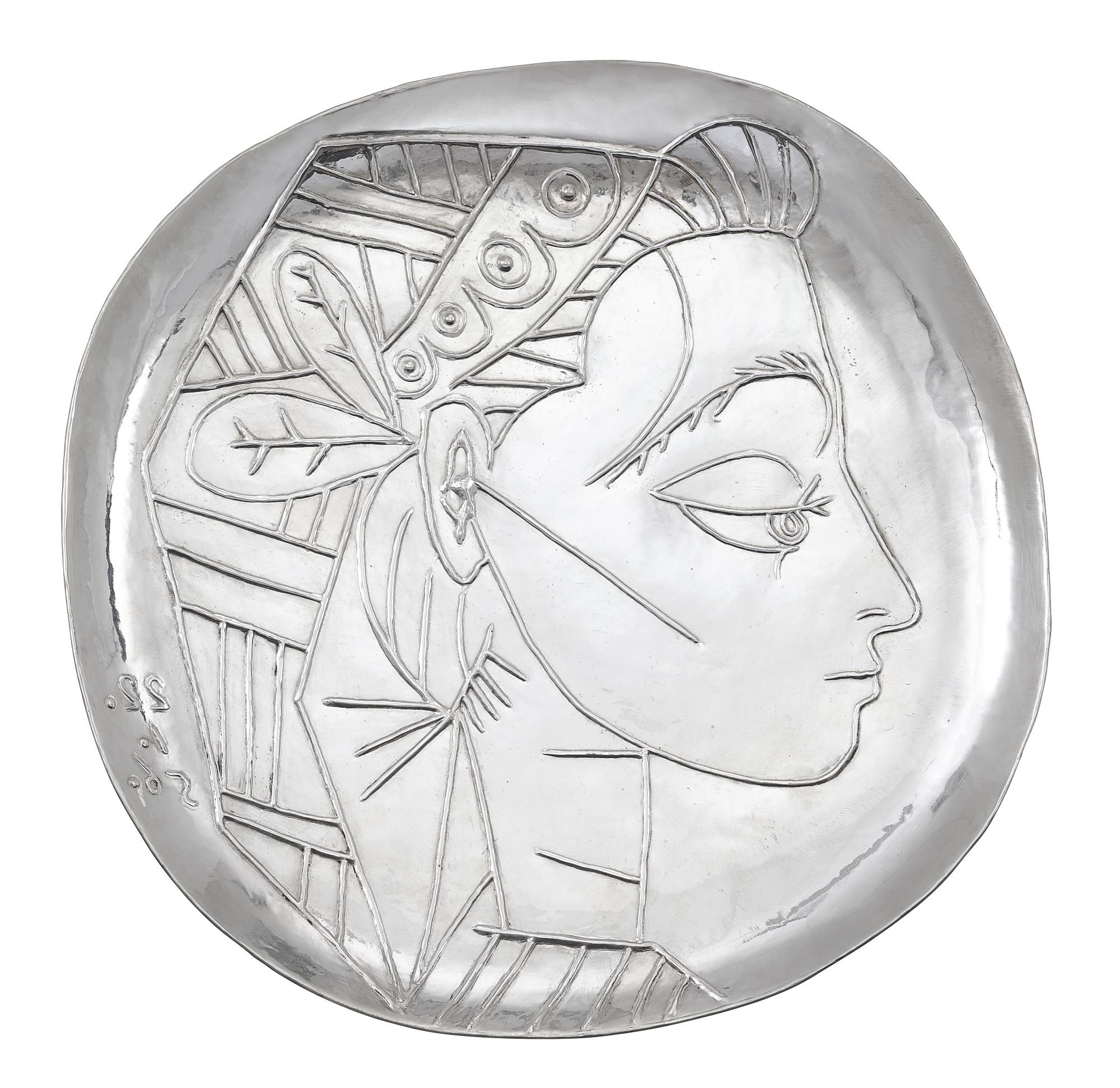 Pablo Picasso-Profil De Jacqueline-1967