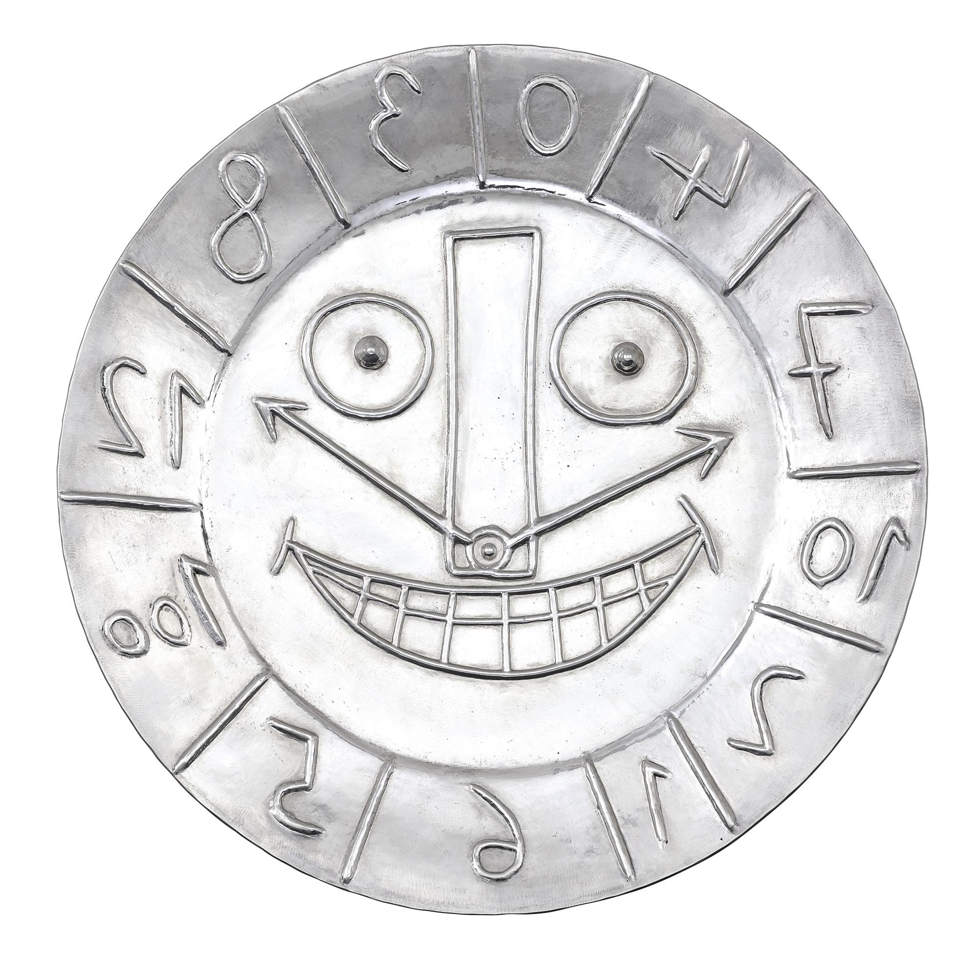 Pablo Picasso-Visage En Forme D'Horloge-1967