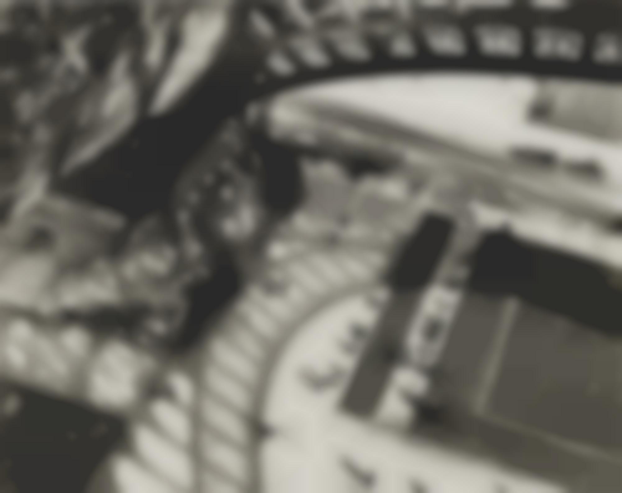 Andre Kertesz-Paris (Shadows Of The Eiffel Tower)-1929