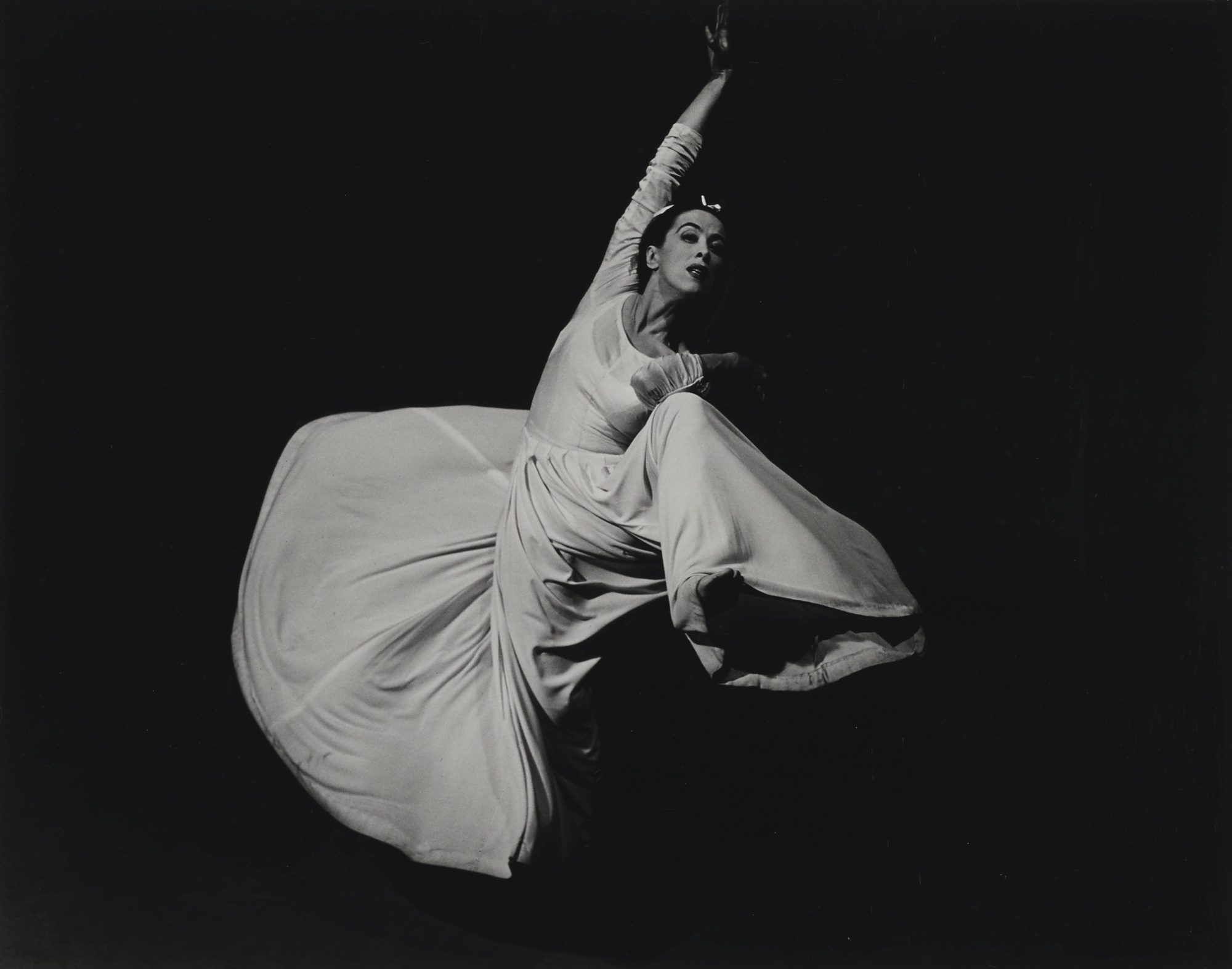 Barbara Morgan-Martha Graham, Letter To The World (Swirl)-1940