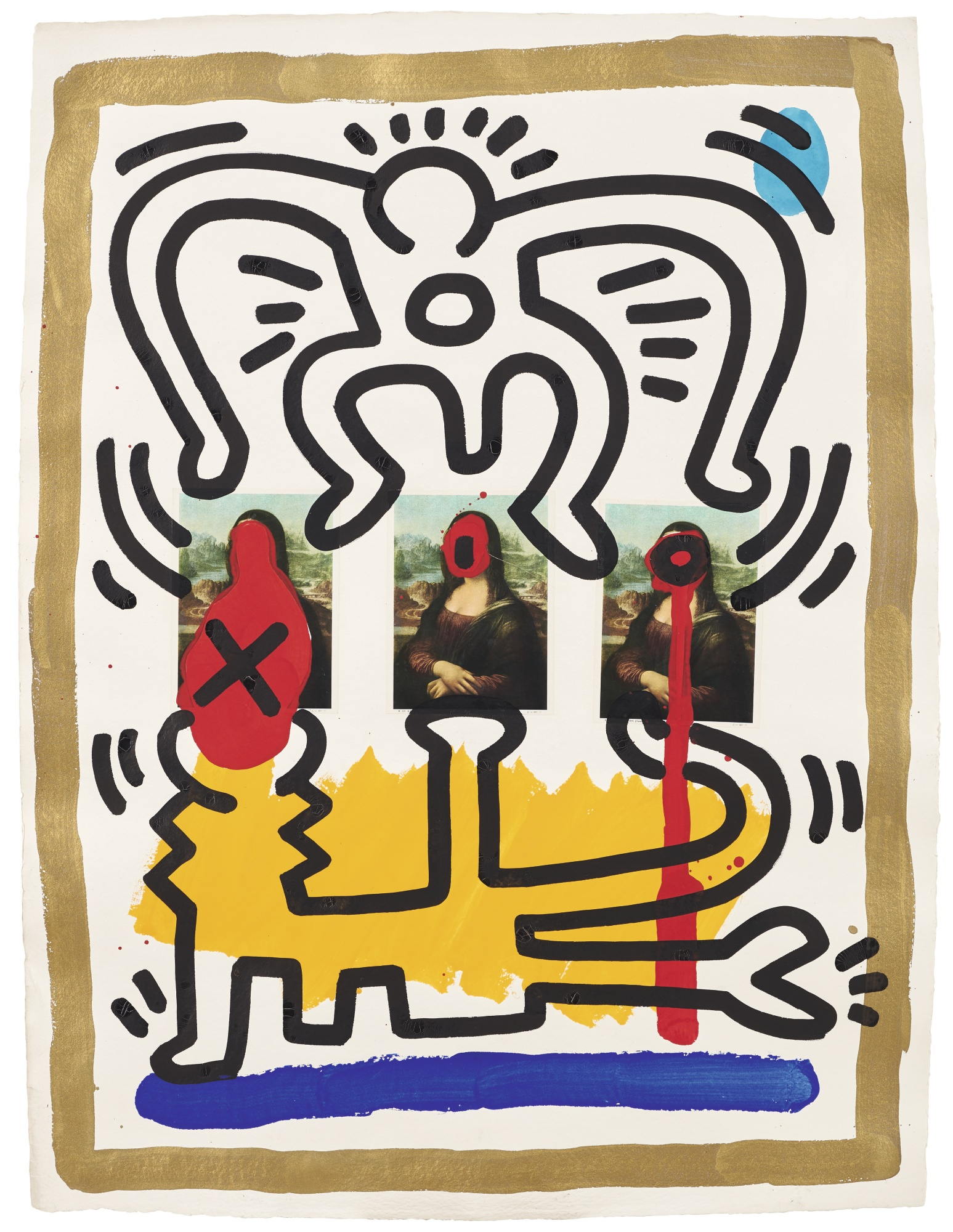 Keith Haring-Untitled-1988