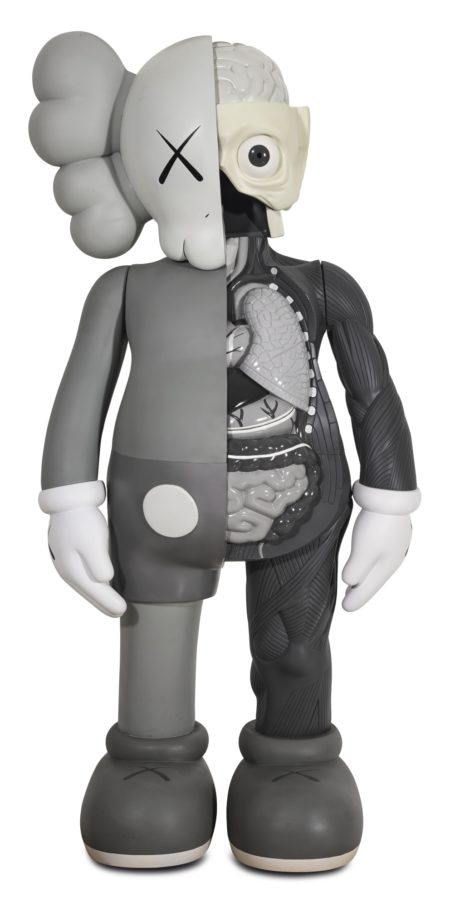 KAWS-Four Foot Dissected Companion (Grey)-2007