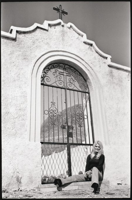 Jacques Heripret-Brigitte Bardot Pendant Le Tournage De Shalako, 1968-1968