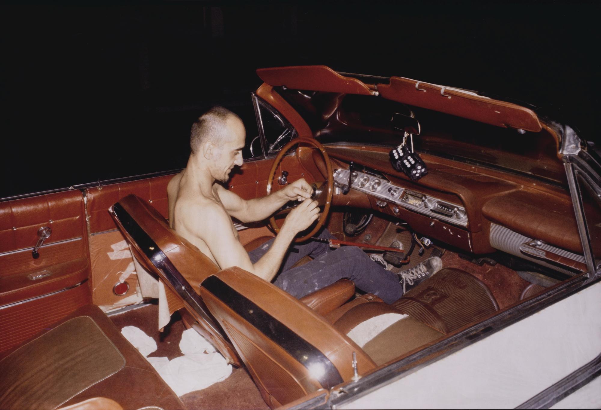 Nan Goldin-Bruce In His Car, Nyc-1981