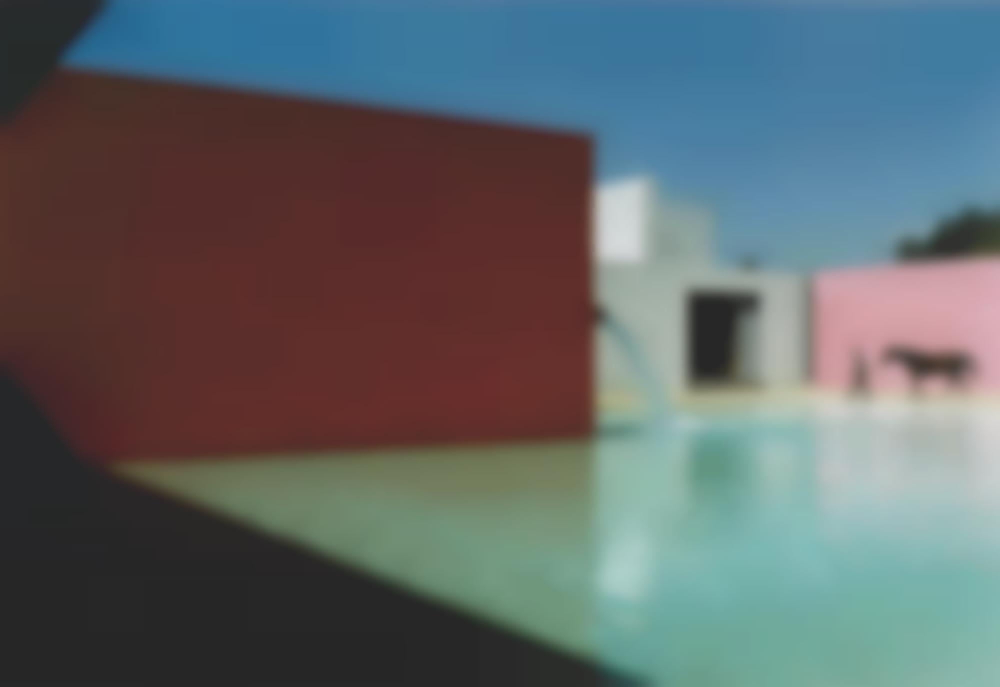 Rene Burri-Piscine Pour Chevaux, Maison Luis Barragan, Mexico City, 1976-