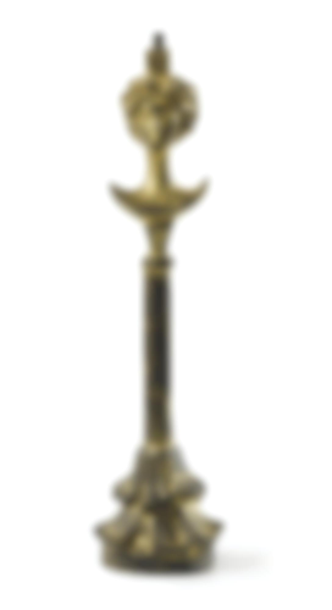 Syrie Maugham - Lampe Tete De Femme, D'Apres Le Modele D'Alberto Giacometti-1940