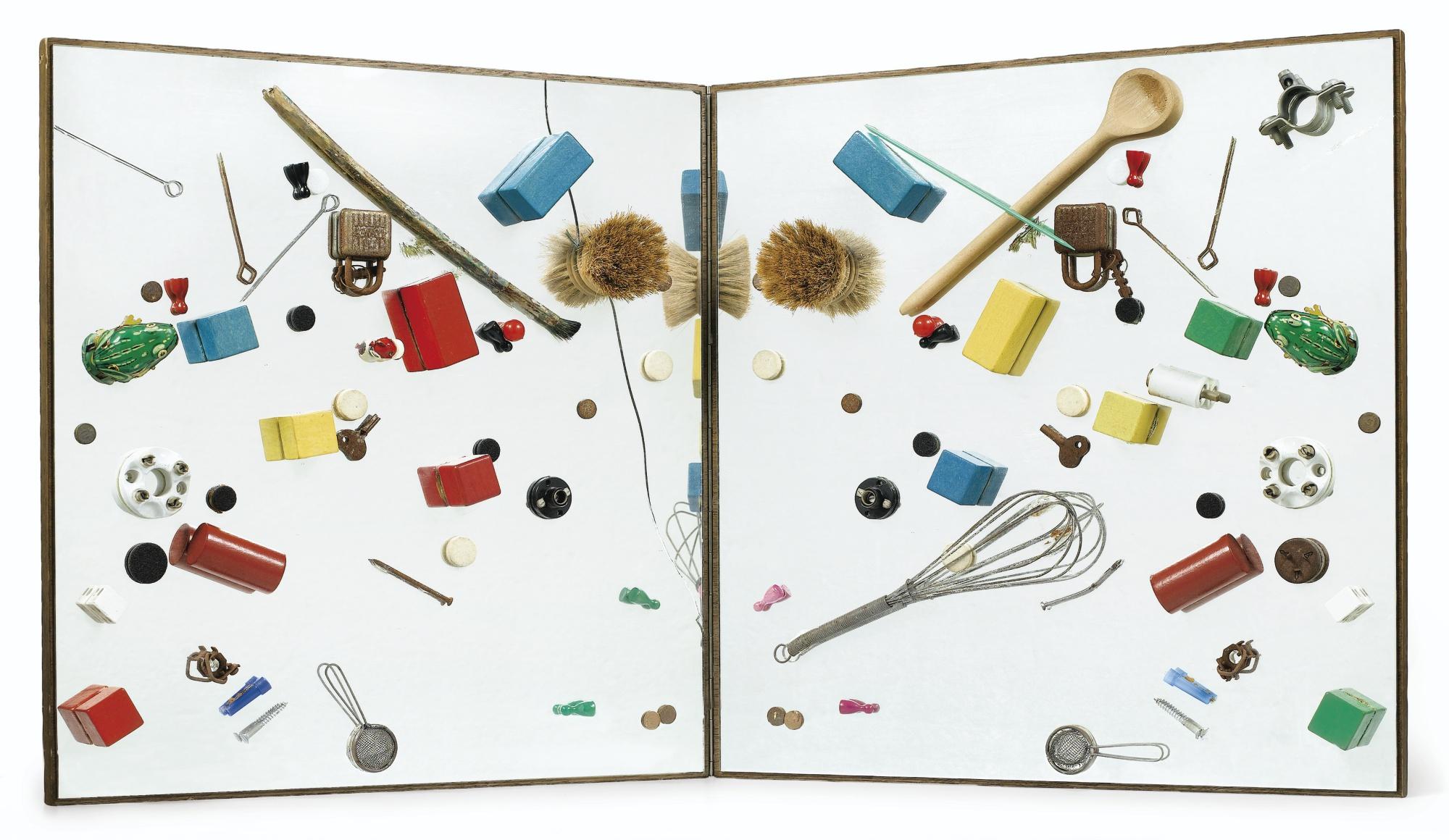Daniel Spoerri-Multiplicateur D'Art (Spiegelobjekt)-1964