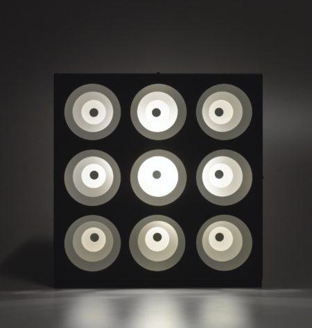 Gregorio Vardanega-9 Cercles Concentriques-1969