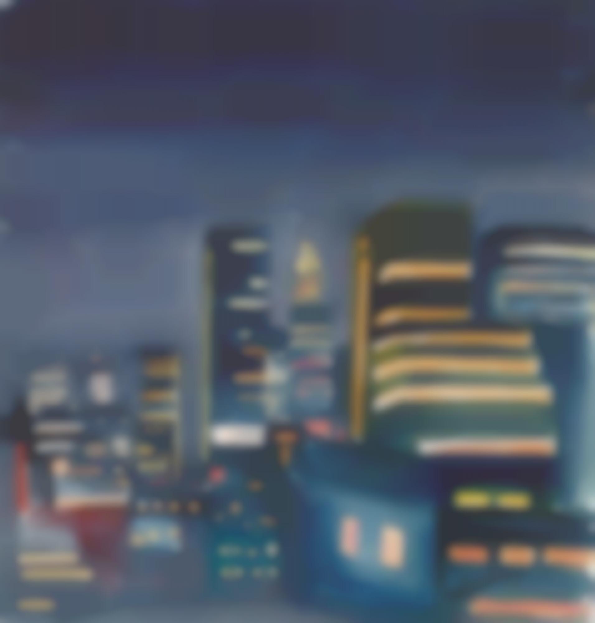 Burhan Dogancay-Sans Titre (Trois Oeuvres)-1964