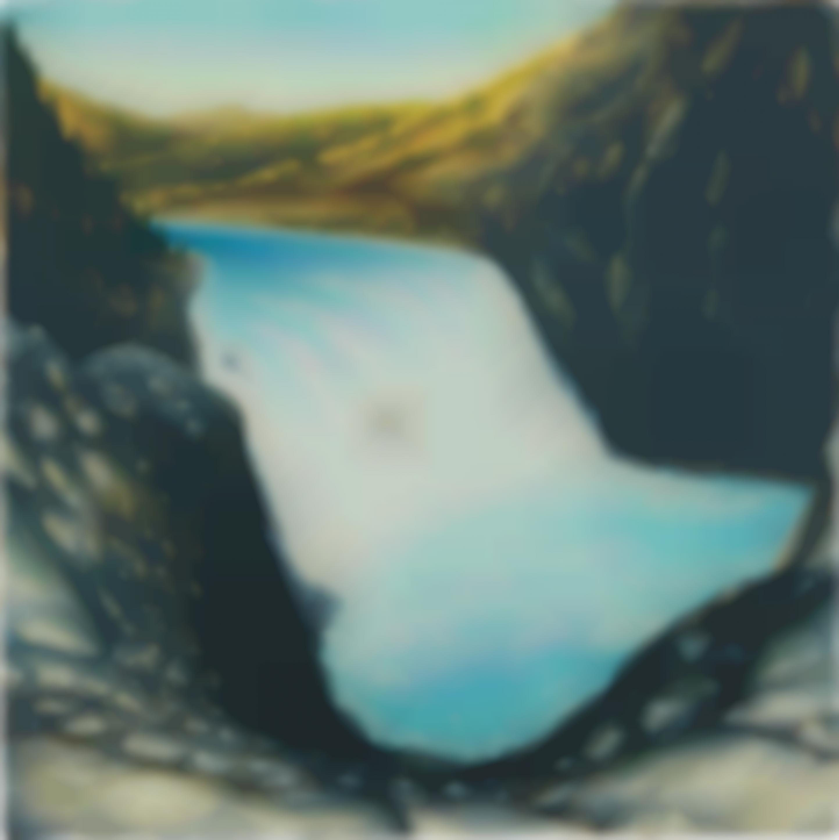 Dan Attoe-Waterfall with Boat-2014
