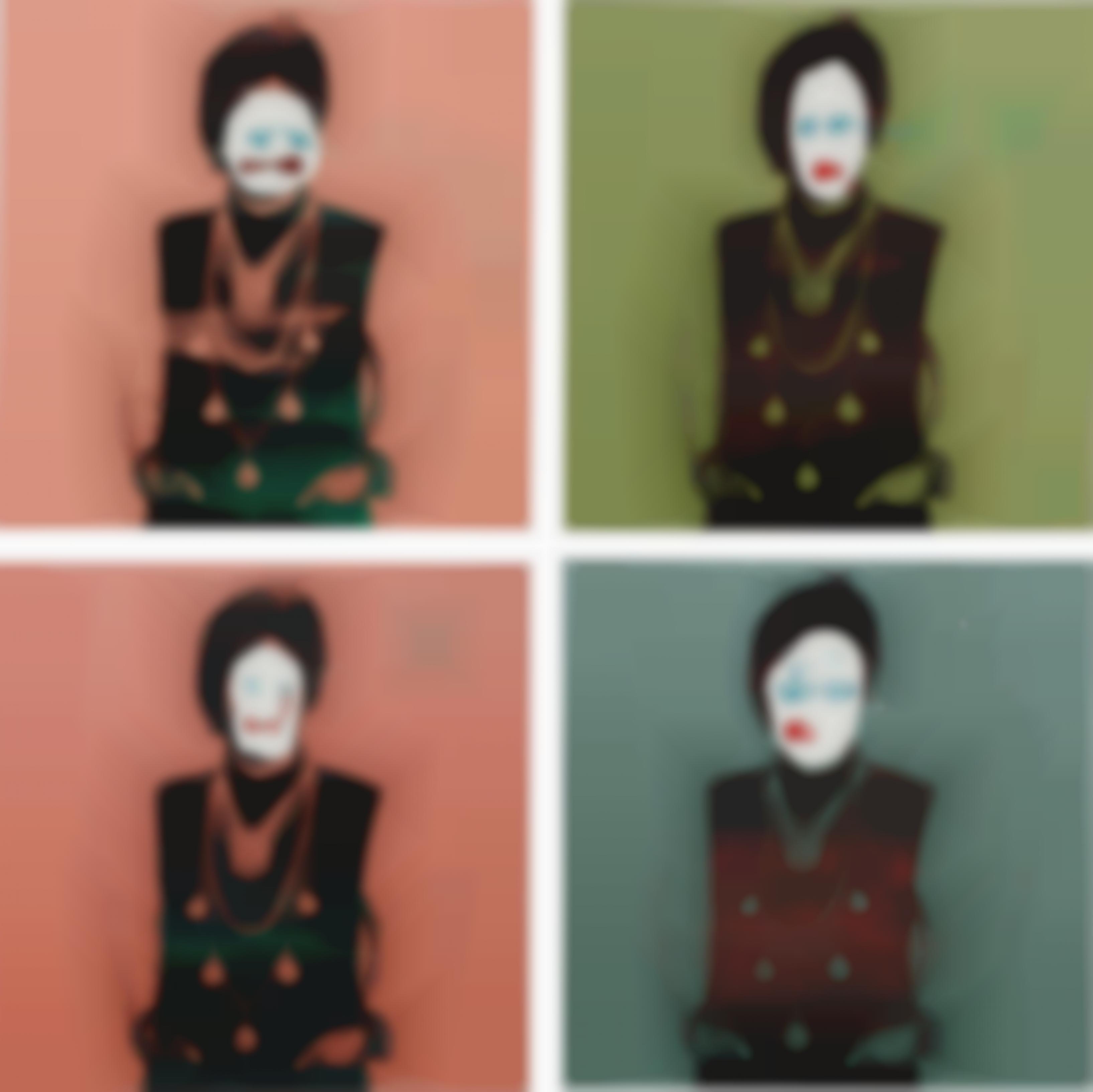 Bruce High Quality Foundation-Self Portrait 1, Self Portrait 2, Self Portrait 3, Self Portrait 4-2011