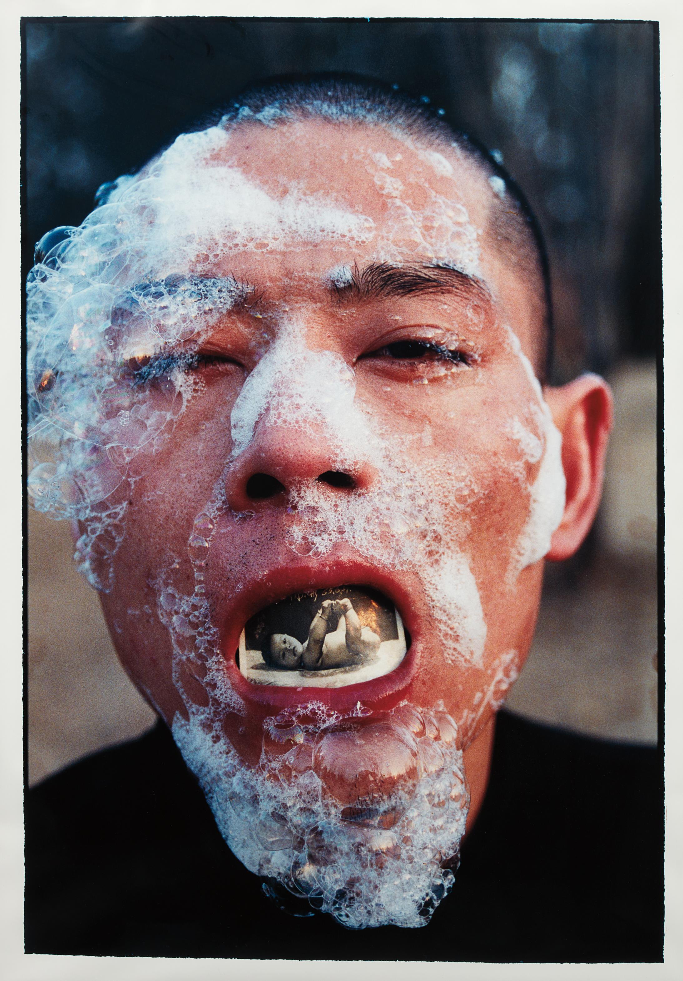Zhang Huan-Foam (1) from Foam Series-1998
