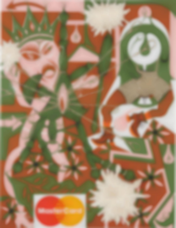 Lari Pittman-Untitled #29 (A Decorated Chronology of Insistence & Resignation)-1993
