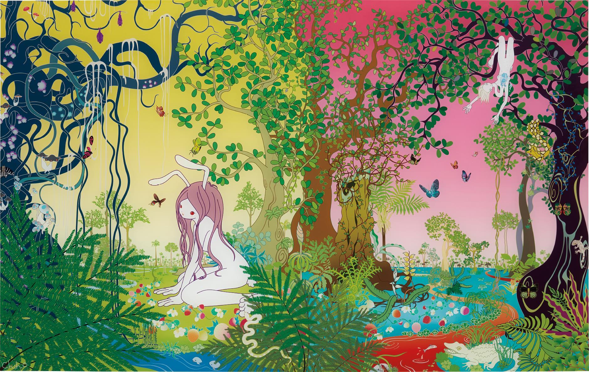 Chiho Aoshima-Strawberry Fields-2003