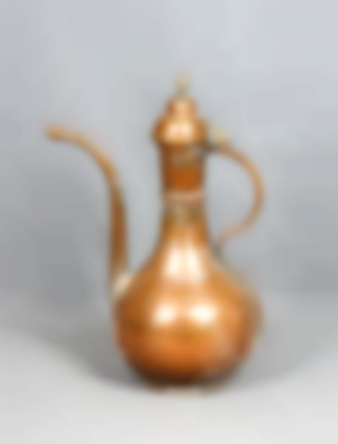 A Copper Coffee Pot, 19Th/20Th Century-