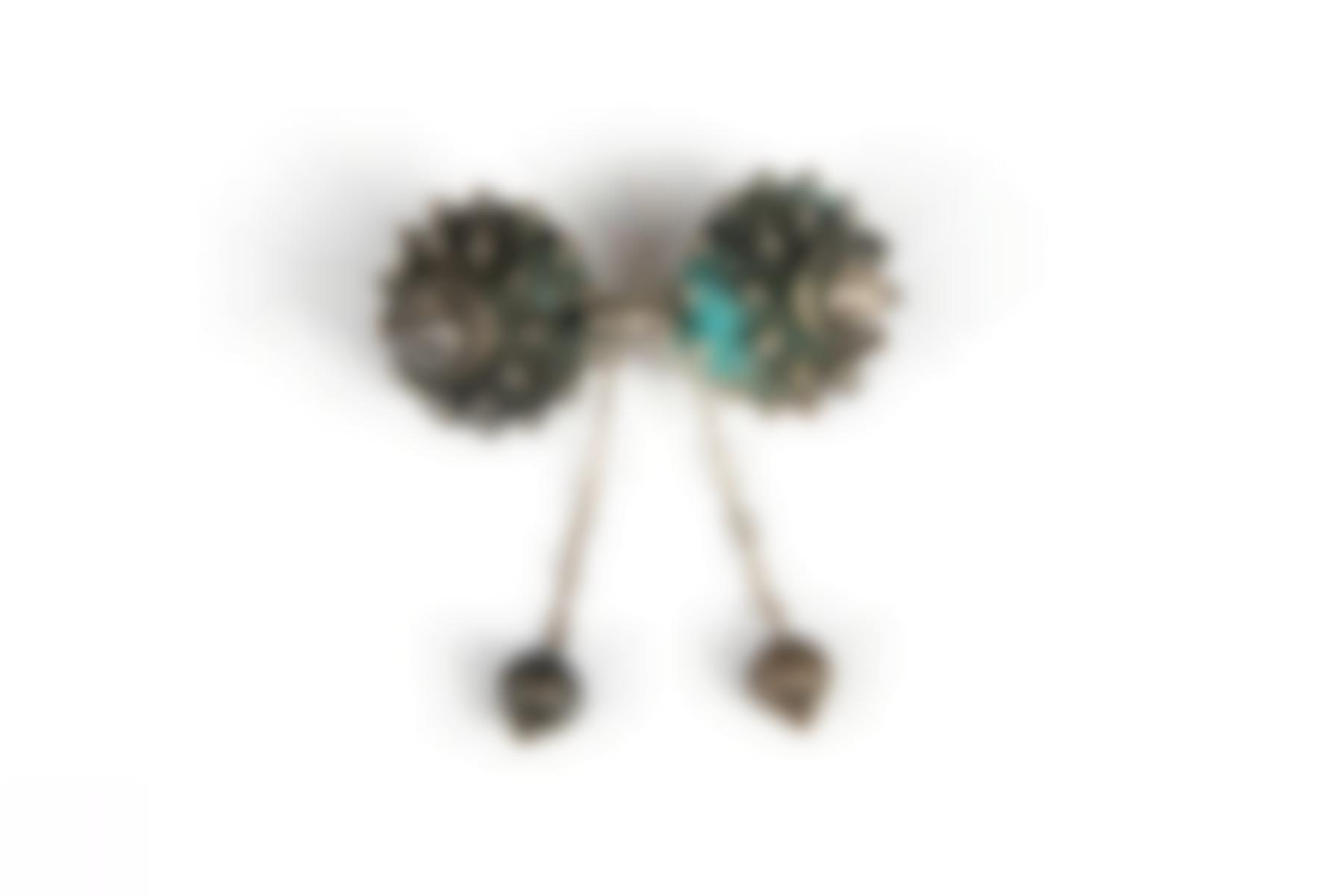 A Spanish Silver Brooch-