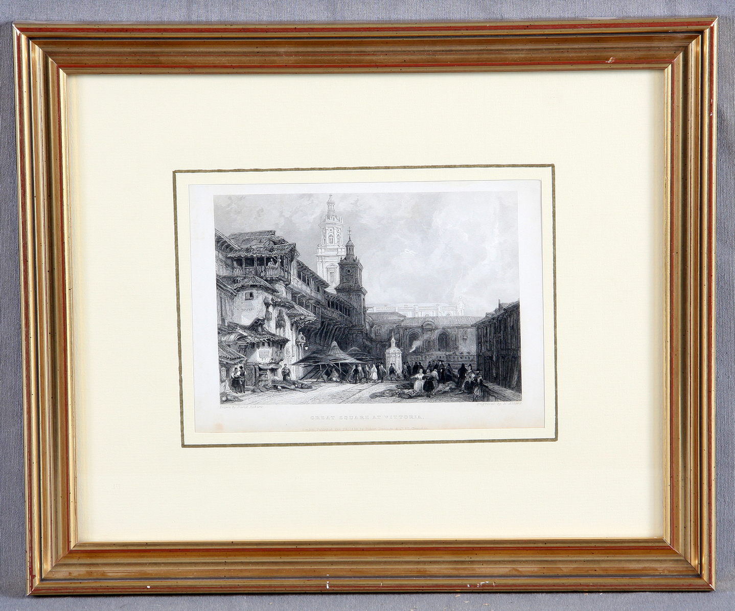 Roberts, David - Vitoria, Gran Plaza-